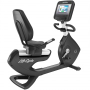 Горизонтальный велотренажёр Life Fitness Platinum Club Discover SI