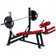 Олимпийская скамья с отрицательным наклоном Hammer Strength (O-DB)