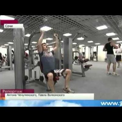 """Репортаж 1 канала -  """"В Олимпийских пресс-центрах кипит работа"""""""